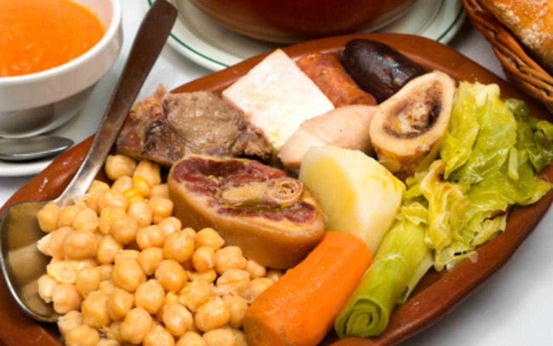 Donde comer cocido en Madrid