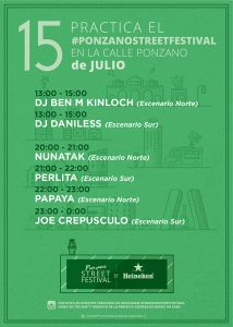 Ponzano Street Festival 2017 - Programa