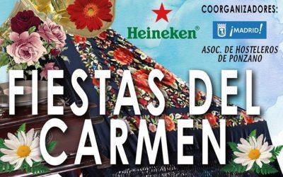 Fiestas del Carmen 2017 en Ponzano